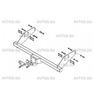 Фаркоп для Уаз Cargo, Profi (AvtoS)