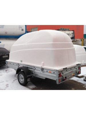 Пластиковая крышка для прицепа МЗСА-817712